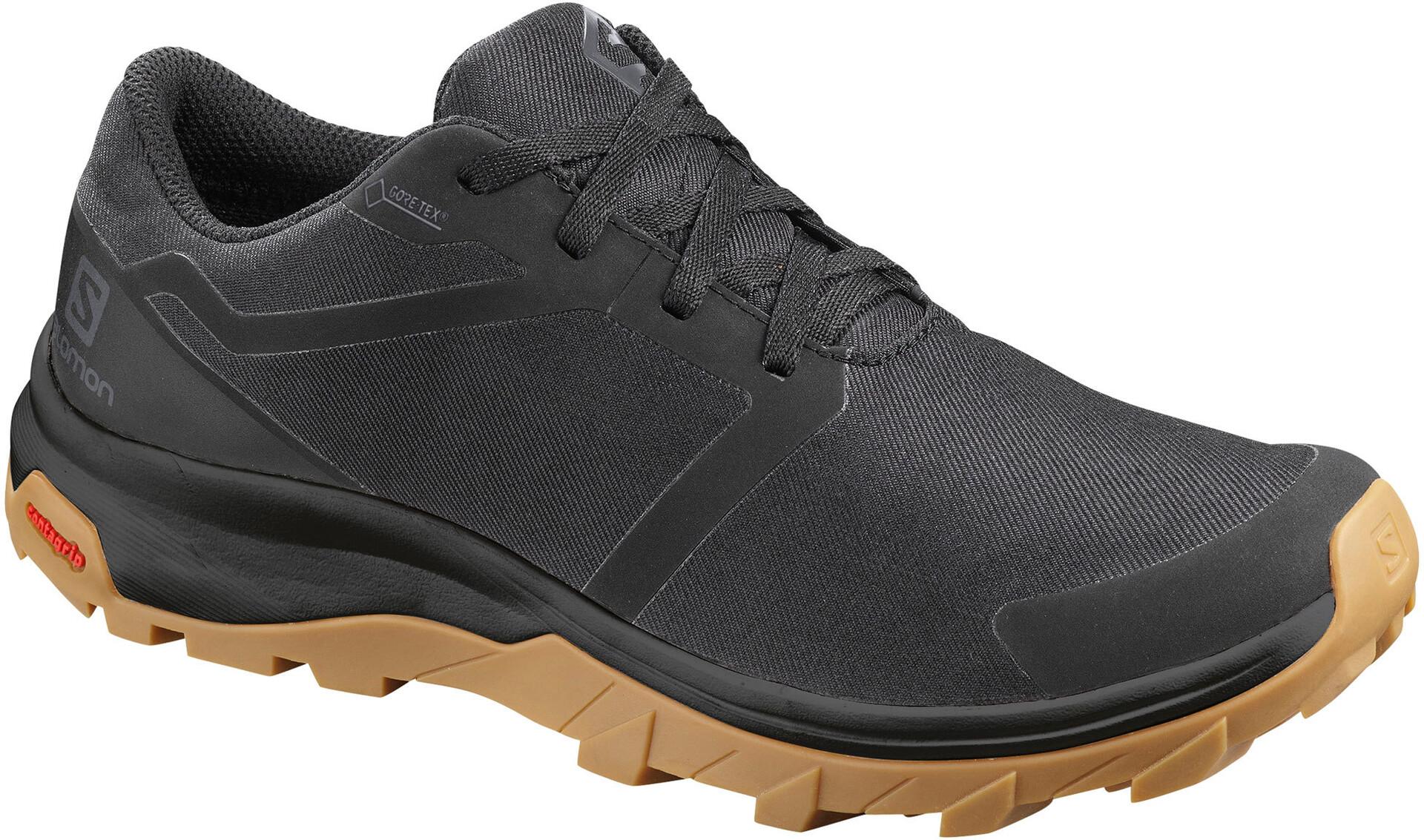 Salomon Outbound GTX Schuhe Damen blackblackgum1a | campz.at